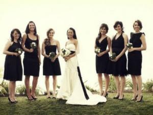 Наряд для подружек невесты1