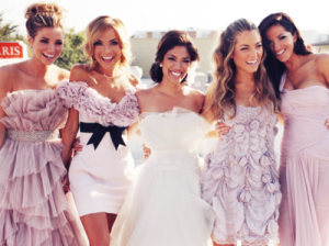 Наряд для подружек невесты3