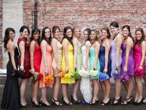 Наряд для подружек невесты5